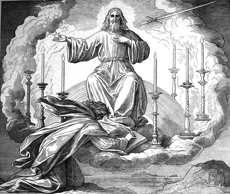 Gustav Doré, The Vision of John on Patmos (ca. 1880)