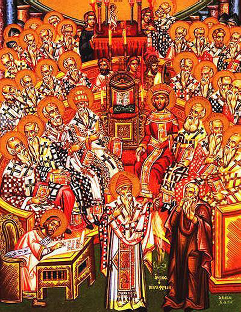 First Council of Nicaea (325) – unknown Eastern Orthodox icon