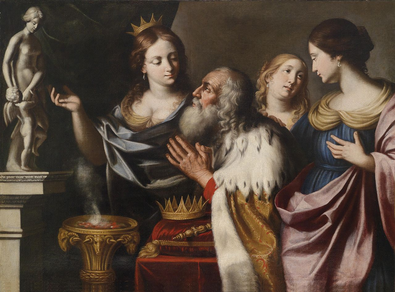 Giovanni Venanzi, Solomon's Wives (1668)