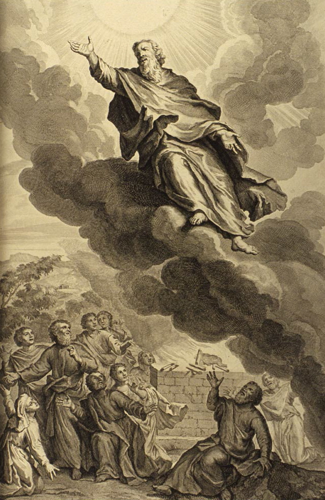 God took Enoch, Gerard Hoet (ca 1700)
