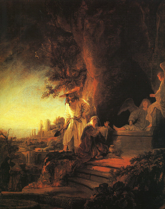 Rembrandt, Risen Christ Appearing to Mary Magdalene